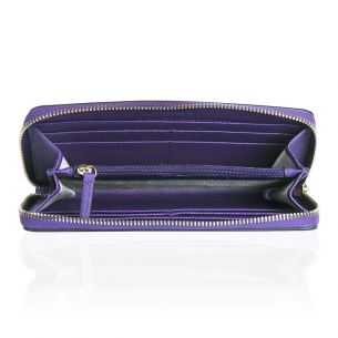 Портмоне Michael Kors Saffiano Leather Continental purple