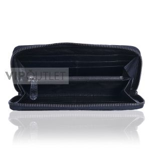 Женский кошелёк Chanel Quilted Zip Wallet black