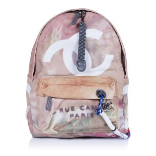 Рюкзак Chanel Graffity Backpack Mini Beige