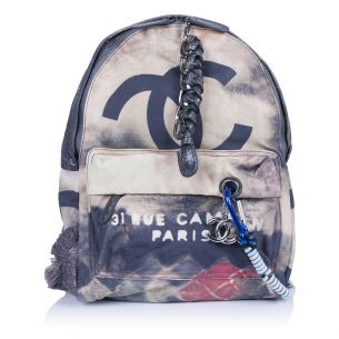 Рюкзак Chanel Graffity Backpack Mini Navy
