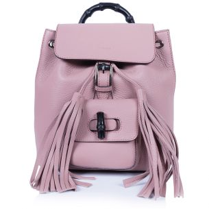 Рюкзак Gucci Bamboo Mini Backpack Light Pink