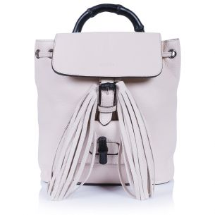 Рюкзак Gucci Bamboo Mini Backpack Ivory