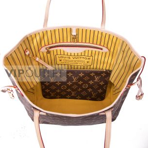 Женская сумка Louis Vuitton Neverfull MM Yellow