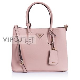 Женская сумка Prada Double Saffiano Bag orchid