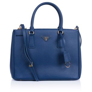 Женская сумка Prada Galleria Saffiano Bag blue