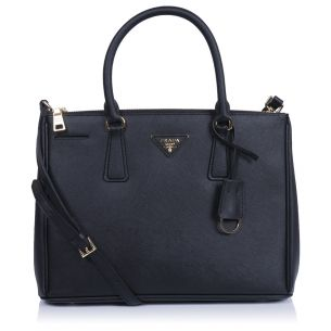 Женская сумка Prada Galleria Saffiano Bag black