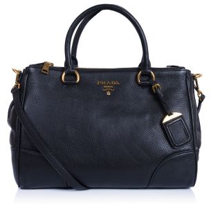 Женская сумка Prada Double Zip Tote black