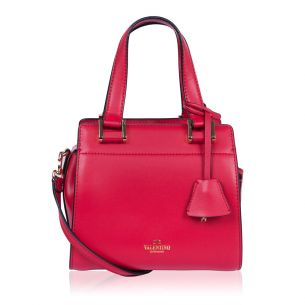 Женская сумка Valentino Garavani Double Handle Small Red